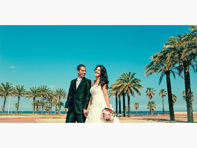 fotografía de boda Barcelona,fotografía en la playa, Rosa Clará