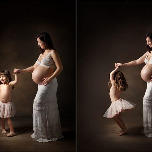 Laura Espadalé fotografia embarazada natural