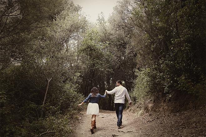 sesión de preboda bosque, laura espadale, fotografía, barcelona