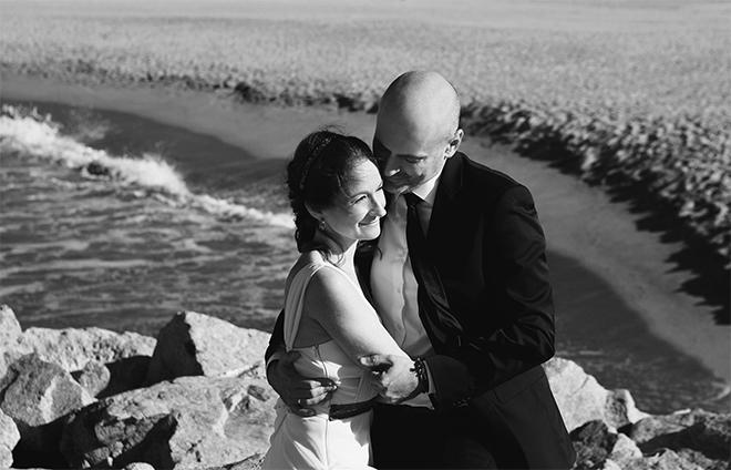 boda, barcelona, el arenal, playa, fotografía, laura espadalé