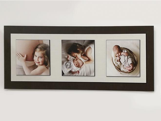 deco wood frame, vintage frame, laura espadalé, decorate with photographs, barcelona, print photographs, wall art